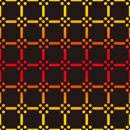 Kimono fabric pattern. Seamless illlustration.
