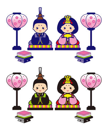 Illustration of the Japanese annual event