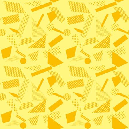 Geometrical pattern wallpaper. Seamless pattern. 矢量图像