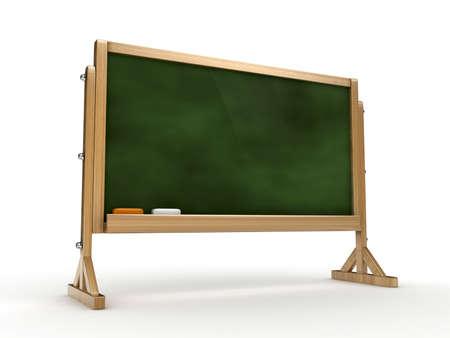 lecture room: 3d blackboard