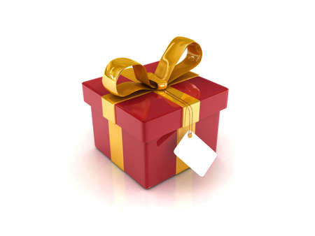 res: High res. 3D Gift boxes isolated