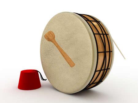 3d ramadan drum  Stock Photo - 11447074