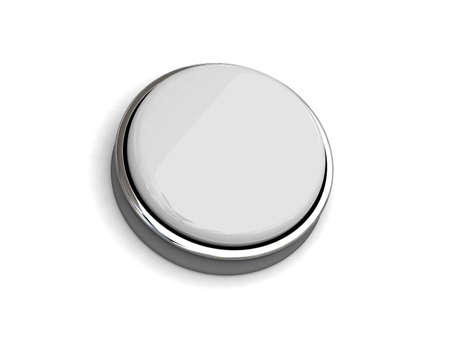 push button isolated Stock Photo - 11447104