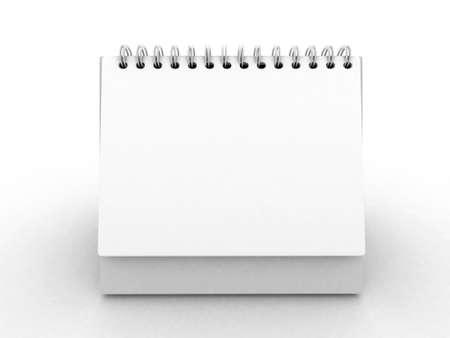 calendario escritorio: calendario vac�o, poner tu propio texto aqu�