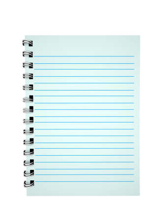 3d blank paper-note pad Stock Photo - 11447640