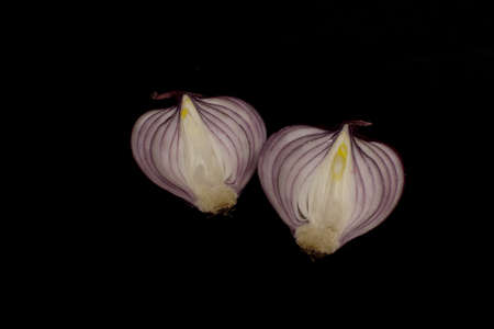 vegtables: Red onion Stock Photo