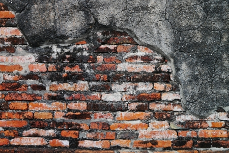 Textured background,old brick wall pattern  photo
