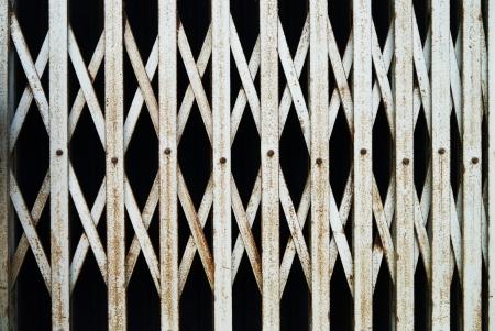 Steel stretch door  photo
