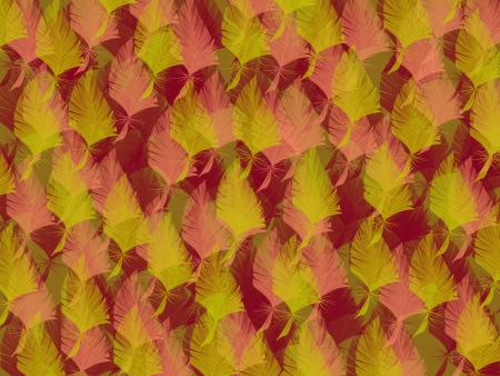 autumn grunge leafs with background photo