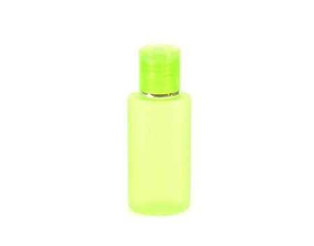 gel douche: Bouteille pour shampooing, savon liquide de nettoyage, le visage de toner, gel douche et lotion pour le corps isol� sur fond blanc Banque d'images