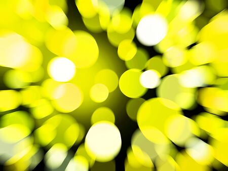 Elegant abstract background zoom circular yellow bokeh  Stock Photo - 21189113
