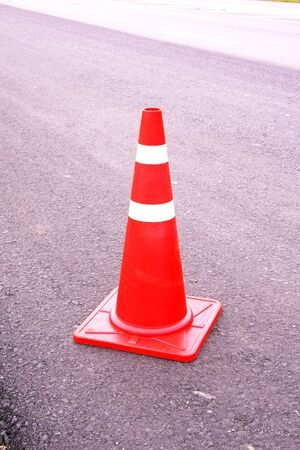 road surface repairing works ,Traffic cones