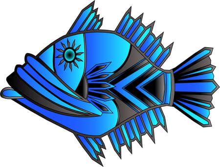 Hip hop fish