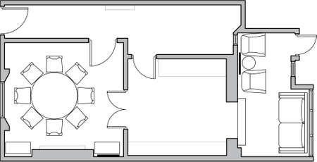 floor plan design Archivio Fotografico