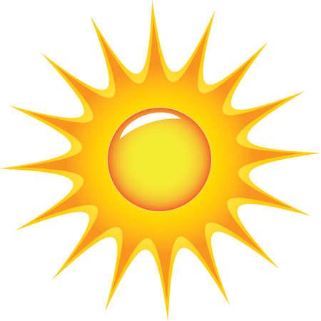 sun symbol Stock Vector - 6863272