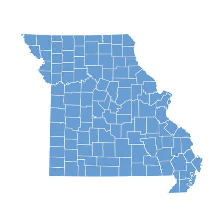 missouri: map Missouri