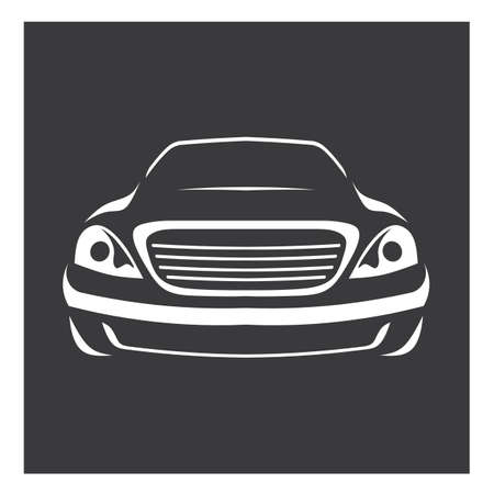 car isolated: car logo