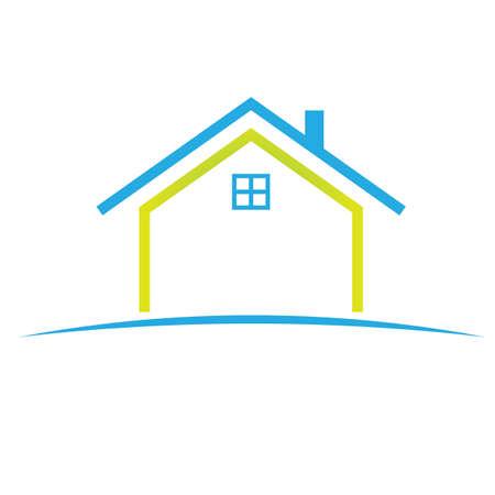 Haus-Symbol Standard-Bild - 8609719