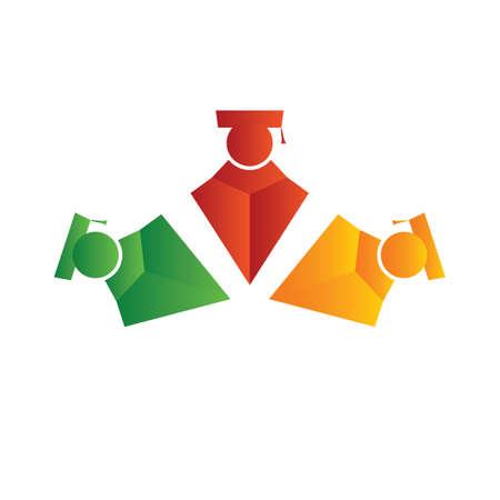 graduates Stock Vector - 8609702