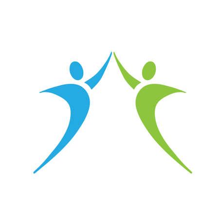 pacto: Trabajo en equipo Vectores