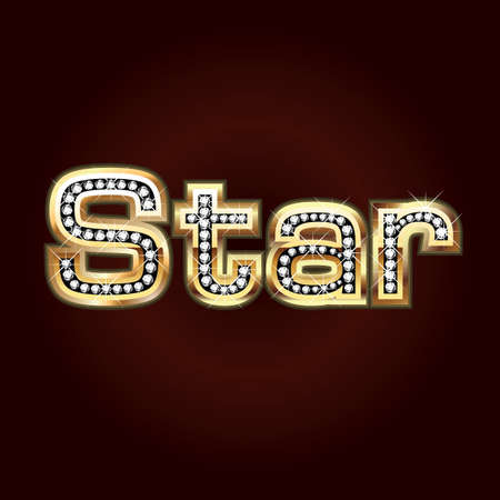 Star bling Vector