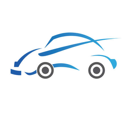 auto illustratie: auto-logo