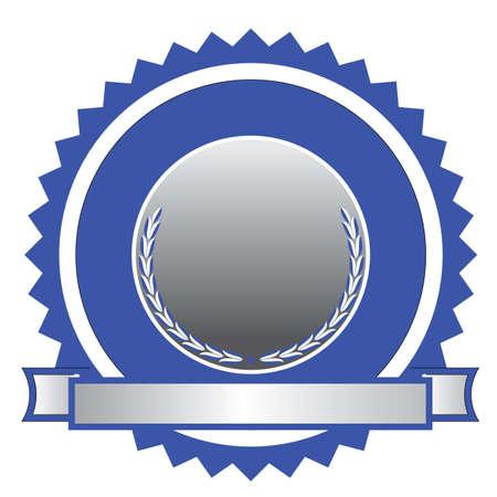 ribbons: Seal Illustration