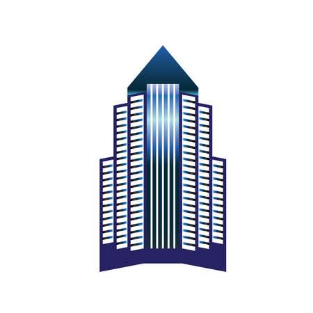 Skyscraper Stock Vector - 8609713
