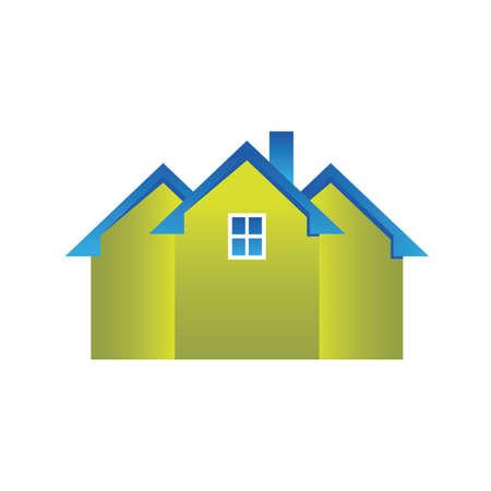 Houses Stock Vector - 8609742