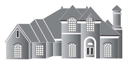 Residence house Vector