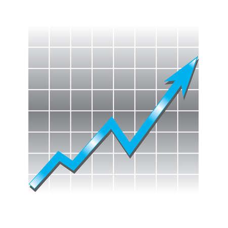 financial graphic Vector