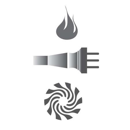 Energy items Vector