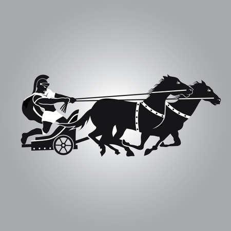 roman empire: Chariot