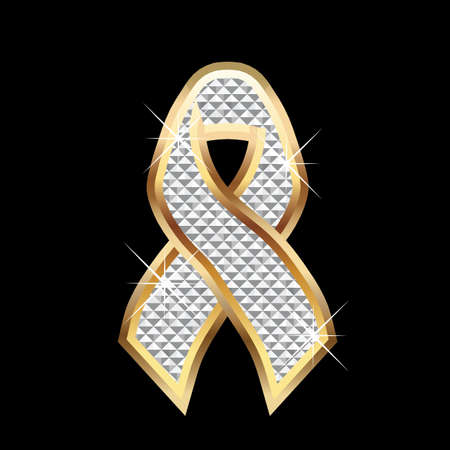 Ribbon awareness Ilustracja