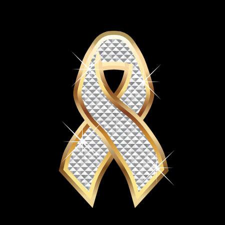 ribbon: Ribbon awareness Illustration