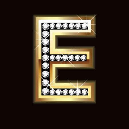 E bling Stock Vector - 9757954
