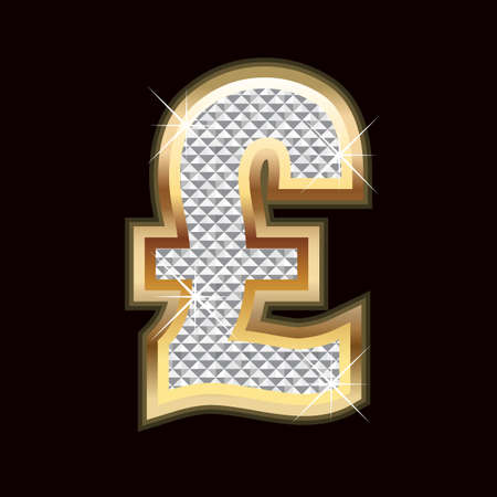 pound symbol: Pound bling