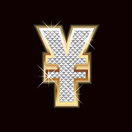 Yen bling Vector