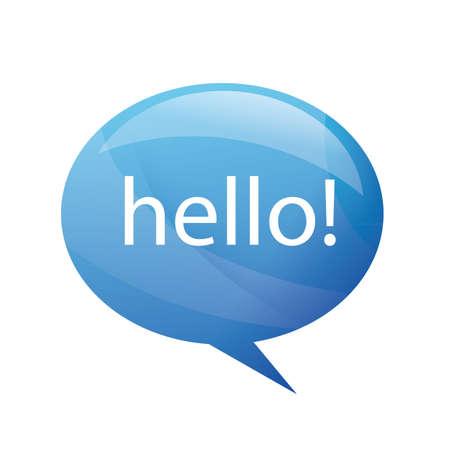 Hello Stock Vector - 10836999