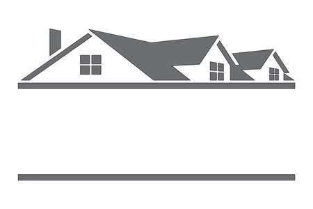 house illustration: House with roof