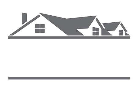 Maison avec toit Banque d'images - 10836983