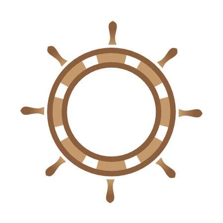 Control wheel Stock Illustratie