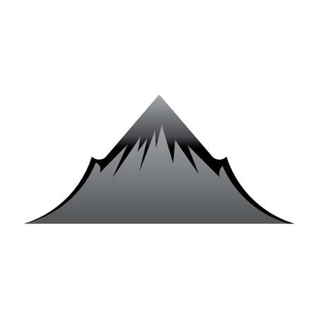 Mountain icon Stock Vector - 10836980