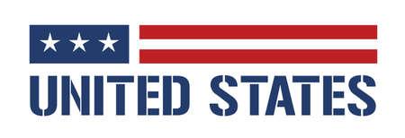 banderas americanas: Estados Unidos icono