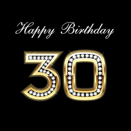 30st 생일 축하