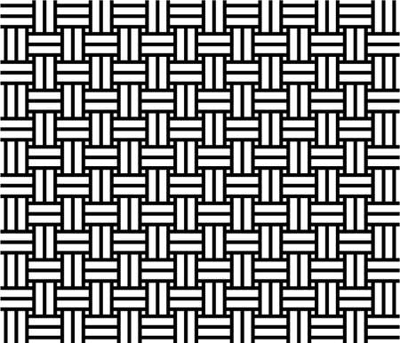 Woven pattern seamless Vector
