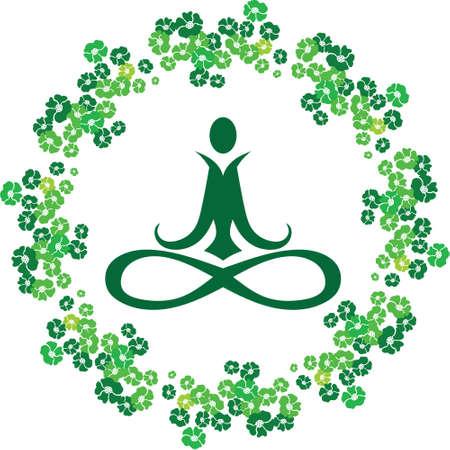 Yoga Flower Icon