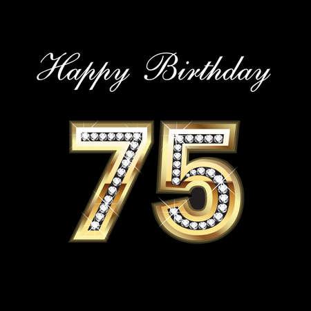 75 번째 생일 축하