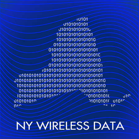New York wireless Stock Vector - 11390829