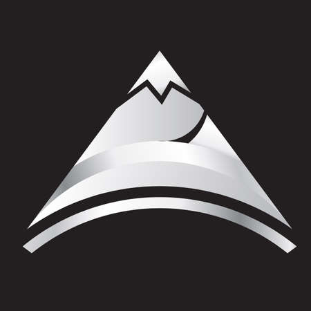 Silber mountain Standard-Bild - 11390832